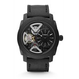 Fossil ME1121 Mechanical Twist Black Leather Watch