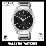 (100% Original) Citizen BJ6520-82E Eco-Drive Super Titanium Bracelet Caliber E031 Sapphire Crystal Glass Men's Solar Watch