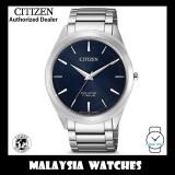 (100% Original) Citizen BJ6520-82L Eco-Drive Super Titanium Bracelet Caliber E031 Sapphire Crystal Glass Men's Solar Watch