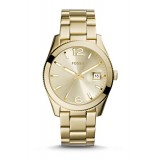 Fossil ES3586 Perfect Boyfriend Gold-Tone Stainless Steel Watch