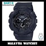 (OFFICIAL WARRANTY) Casio Baby-G BA-130-1A Standard Analog-Digital Black Resin Watch BA130-1A BA130-1ADR BA-130-1ADR