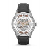 Fossil ME3041 Townsman Automatic Black Leather Watch