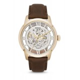 Fossil ME3043 Townsman Automatic Brown Leather Watch