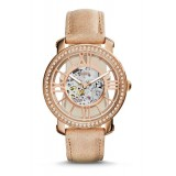 Fossil ME3060 Curiosity Automatic Sand Leather Watch