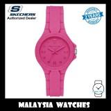 (OFFICIAL WARRANTY) Skechers SR6197 Altavan Woman Quartz Analog Pink Silicone Strap Watch  (2 Years Warranty)