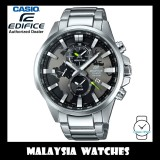 (OFFICIAL WARRANTY) Casio Edifice EFR-303D-1A World Time Chronograph 100M Stainless Steel Men's Watch EFR303D EFR-303D-1AV EFR-303D-1AVUDF