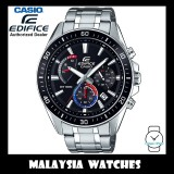 (OFFICIAL WARRANTY) Casio Edifice EFR-552D-1A3 Chronograph 100M Black Dial Stainless Steel Men's Watch EFR552D EFR-552D-1A3V EFR-552D-1A3VUDF