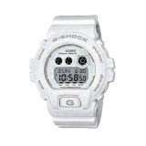 (OFFICIAL MALAYSIA WARRANTY) Casio G-SHOCK Limited Color GD-X6900HT-7 HEATHERED Series Digital Men's Resin Watch (White)