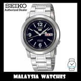 Seiko 5 SNKE61K1 Automatic See-thru Back Blue Dial Stainless Steel Bracelet Gents Watch