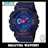 (OFFICIAL WARRANTY) Casio Baby-G BA-110PP-2A Analog Digital Navy Pink Dial Navy Resin Watch BA110PP BA-110PP BA110PP-2A BA-110PP-2ADR