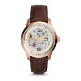 Fossil ME3078 Townsman Automatic Dark Brown Leather Watch