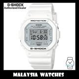 (OFFICIAL WARRANTY) Casio G-Shock DW-5600MW-7 Digital Marine White Resin Digital Watch DW5600MW DW-5600MW DW5600MW-7 DW-5600MW-7DR