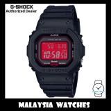 (OFFICIAL WARRANTY) Casio G-Shock GW-B5600AR-1 Adrenaline Red Series Digital Tough Solar Bluetooth Black Resin Watch GWB5600AR GW-B5600AR GWB5600AR-1 GW-B5600AR-1DR