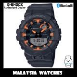 (OFFICIAL WARRANTY) Casio G-Shock GBA-800SF-1A G-Squad Bluetooth Step Tracker Analog Digital Black & Orange Resin Watch GBA800SF GBA-800SF GBA800SF-1A GBA-800SF-1ADR
