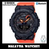 (OFFICIAL WARRANTY) Casio G-Shock GMA-B800SC-1A4 G-Squad Analog Digital Step Tracker Bluetooth Black & Orange Resin Watch GMAB800SC GMA-B800SC GMAB800SC-1A4 GMAB800SC-1A4DR