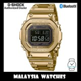 (OFFICIAL WARRANTY) Casio G-Shock GMW-B5000GD-9 Made in Japan Tough Solar Bluetooth Multiband Digital 6 Gold Stainless Steel Watch GMWB5000GD GMW-B5000GD GMWB5000GD-9 GMW-B5000GD-9DR