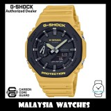 (OFFICIAL WARRANTY) Casio G-Shock GA-2110SU-9A Carbon Core Guard Analog Digital Yellow Resin Watch GA2110SU GA-2110SU GA2110SU-9A GA-2110SU-9ADR