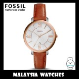 (OFFICIAL WARRANTY) Fossil Women's ES3842 Jacqueline Cedar Leather Watch (2 Years International Warranty)