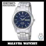 Seiko SGG717P1 Quartz Analog Day & Date Sapphire Blue Dial Stainless Steel Men's Watch