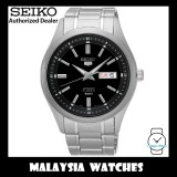 Seiko 5 SNKN89K1 Automatic Black Dial Hardlex Crystal Glass Silver-Tone Stainless Steel Strap Men's Watch