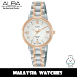 ALBA AH7V60X Quartz Analog Silver Dial Sapphire Crystal Glass Two-Tone Stainless Steel Ladies Watch AH7V60 AH7V60X1 (from SEIKO Watch Corporation)