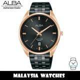 ALBA AS9L04X Prestige Quartz Analog Sapphire Glass Black Dial Rose Gold-Tone Case Black Stainless Steel Watch AS9L04 AS9L04X1 (from SEIKO Watch Corporation)