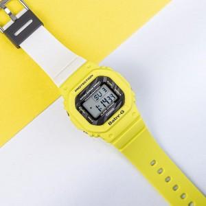 OFFICIAL WARRANTY) Casio Baby-G BGD-560TG-9 Digital Yellow / White Resin  Watch BGD-560 BGD560TG