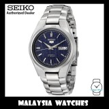 Seiko 5 SNK603K1 Automatic See-thru Back Blue Dial Stainless Steel Bracelet Gents Watch