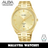 ALBA AS9L06X Prestige Quartz Sapphire Glass Gold-Tone Stainless Steel Watch AS9L06 AS9L06X1 (from SEIKO Watch Corporation)