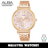 ALBA AP6670X Fashion Quartz Light Pink Dial Rose Gold-Tone Stainless Steel Women's Watch AP6670 AP6670X1 (from SEIKO Watch Corporation)