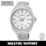 Seiko Classic SUR273P1 Quartz Analog Silver White Dial Stainless Steel Men's Watch