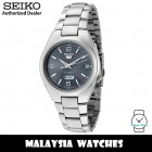 Seiko SNK621K1 Automatic Analog Grey Dial Hardlex Crystal Glass Silver-Tone Stainless Steel Strap Men's Watch