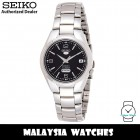 Seiko SNK623K1 Automatic Analog Black Dial Hardlex Crystal Glass Silver-Tone Stainless Steel Strap Men's Watch