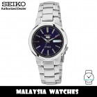 Seiko SNKA05K1 Automatic Analog Blue Dial Mineral Crystal Glass Silver-Tone Stainless Steel Strap Men's Watch