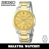 Seiko 5 SNK792K1 Automatic See-thru Back Gold-Tone Dial Two-Tone Stainless Steel Men's Watch