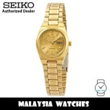 Seiko 5 SYM600K1 Automatic Gold-Tone Dial Hardlex Crystal Glass Gold-Tone Stainless Steel Women's Watch