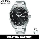 ALBA AL4159X Prestige Automatic Mineral Glass Black Dial Stainless Steel Men's Watch AL4159 AL4159X1 (from SEIKO Watch Corporation)