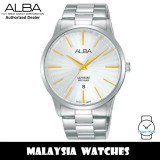 ALBA AG8K85X Quartz Analog Sapphire Glass Silver Dial Silver-Tone Stainless Steel Men's Watch AG8K85 AG8K85X1 (from SEIKO Watch Corporation)