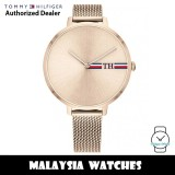 (100% Original) Tommy Hilfiger 1782158 Alexa Quartz Analog Rose Gold Stainless Steel Mesh Women's Watch (2 Years International Warranty)