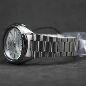 Seiko 5 SNXS73K1 Automatic See-thru Back Silver Dial Silver-Tone Stainless Steel Men's Watch