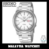 Seiko 5 SNKE49K1 Automatic See-thru Back White Dial Stainless Steel Bracelet Gents Watch