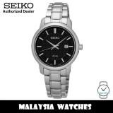 Seiko SUR747P1 Neo Classic Analog Quartz Black Dial Hardlex Crystal Glass Stainless Steel Women's Watch