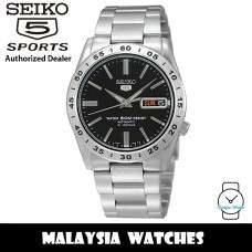 Seiko 5 SNKE01K1 Automatic Black Dial See Through Case Back Hardlex Crystal Glass Stainless Steel Men's Watch