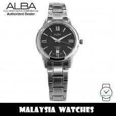 Alba AH7A07X Quartz Black Dial Sapphire Glass Stainless Steel Ladies Watch AH7A07 AH7A07X1 (from SEIKO Watch Corporation)