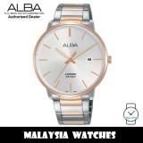 Alba AS9G60X Quartz Silver Dial Sapphire Glass Two-Tone Stainless Steel Men's Watch AS9G60 AS9G60X1 (from SEIKO Watch Corporation)