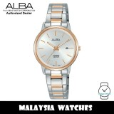 Alba AH7R50X Quartz Silver White Dial Sapphire Glass Two-Tone Stainless Steel Ladies Watch AH7R50 AH7R50X1 (from SEIKO Watch Corporation)