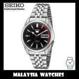 Seiko 5 Automatic SNK375K1 See-thru Back Stainless Steel Watch (Silver)