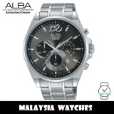 Alba AT3A53X Quartz Chronograph Black Dial Stainless Steel Men's Watch AT3A53 AT3A53X1 (from SEIKO Watch Corporation)