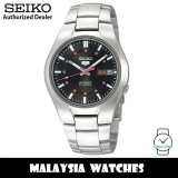 Seiko 5 SNK617K1 Automatic See Through Back Case Black Dial Stainless Steel Bracelet Gents Watch