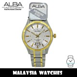 Alba AS9178X Quartz Analog Silver Dial Sapphire Glass Stainless Steel Men's Watch AS9178 AS9178X1 (from SEIKO Watch Corporation)